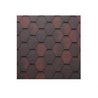 TEGOLA SHINGLE LINE PREMIUM MOSAIK 010 2-TONE RED