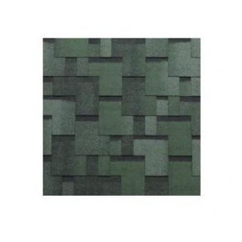 TEGOLA SHINGLE LINE PREMIUM GOTHIK 274 2-TONE GREEN