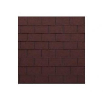 TAGOLA SHINGLE LINE PREMIUM RECTANGULAR 001 RED