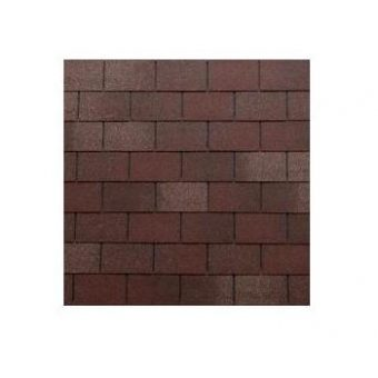 TEGOLA TOP SHINGLE RECTANGULAR 002 2-TONE RED