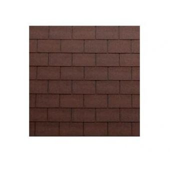 TEGOLA TOP SHINGLE RECTANGULAR 006 BRICK