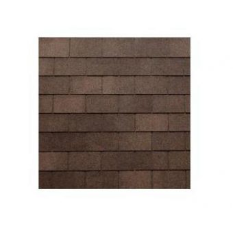 TEGOLA TOP SHINGLE RECTANGULAR 020 2-TONE BROWN