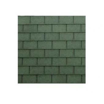 TEGOLA TOP SHINGLE RECTANGULAR 070 2-TONE GREEN