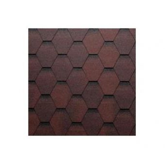 TEGOLA ECO ROOF HEXAGONAL 209 RED