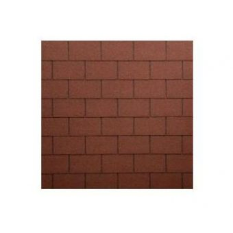 TEGOLA ECO ROOF RESTANGULAR 013 MIXED RED