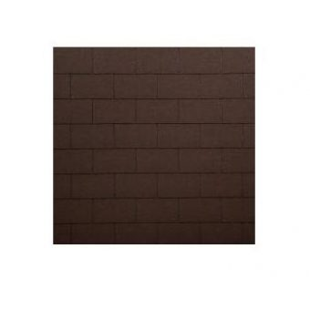 TEGOLA ECO ROOF RESTANGULAR 032 MIXED BROWN