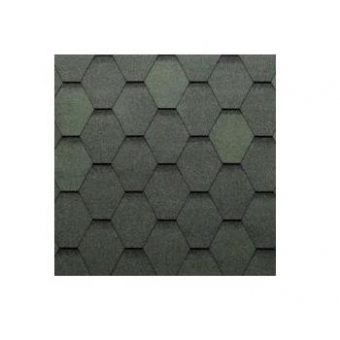 TEGOLA ECO ROOF HEXAGONAL 078 MIXED GREEN